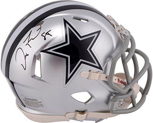 Dez Bryant Dallas Cowboys Autographed Speed Mini Helmet Panini Fanatics Authentic Certified Autographed Nfl Mini Helmets