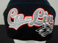 NEW NCAA COPIAH LINCOLN COMMUNITY COLLEGE WOLFPACK ADULT BEANIE HAT 53AT
