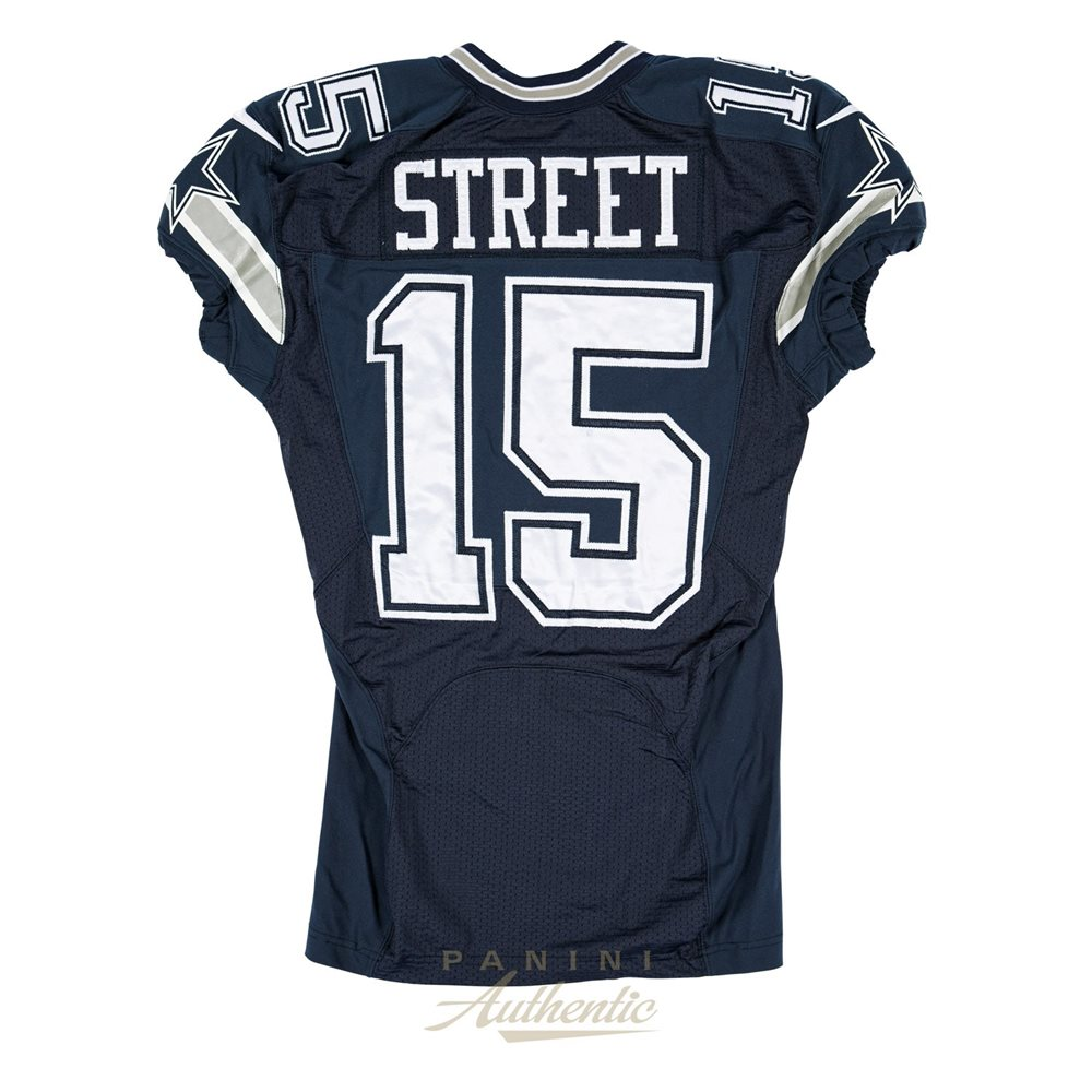Devin Street Game Worn Dallas Cowboys Jersey and Pant Set From 11/27/2014 vs the Philadelphia Eagles ~Limited Edition 1/1~