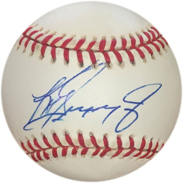 da0bc7ae2e Ken Griffey Jr Autographed Baseball (JSA). Click To Enlarge