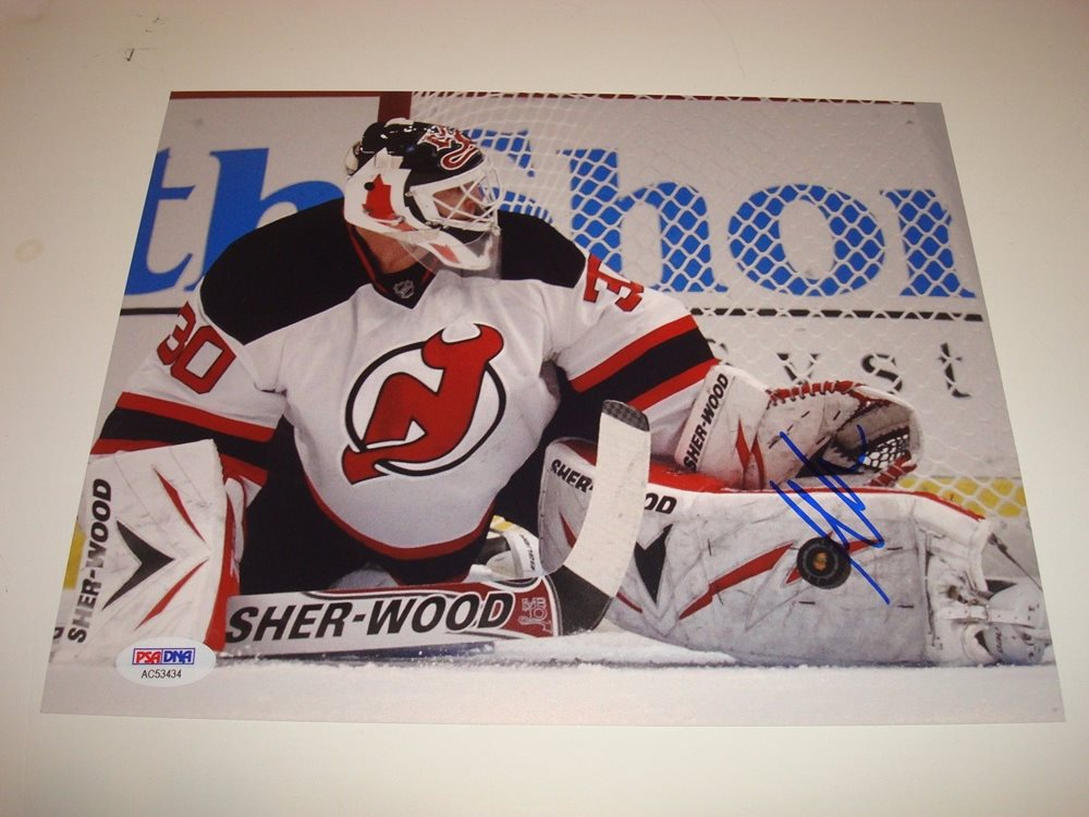 watch 0c2b8 47458 Martin Brodeur Signed New Jersey Devils 8x10 Photo PSA/DNA COA Autographed  1E