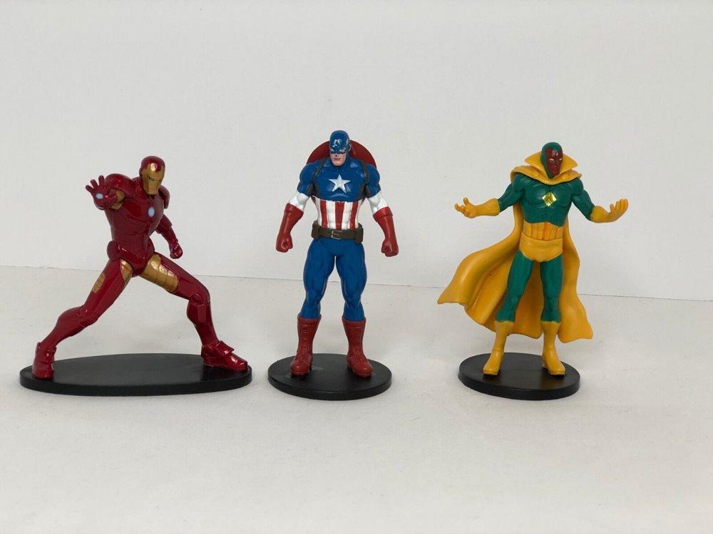 Disney Marvel Avengers Vision PVC Figure loose