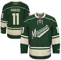 Zach Parise Green Minnesota Wild Jersey Unsigned ef14ce1f452