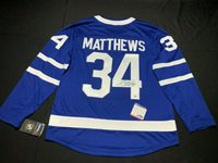 timeless design 1ede5 ed2f4 Auston Matthews Autographed Signed FAN Authentic Toronto Maple Leafs Hockey  Jersey PSACUSTOM FRAME YOUR JERSEY