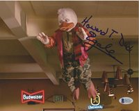 Ed Gale Autographed Signed Howard The Duck 8x10 Photo Entertainment Memorabilia Photographs