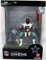 McFarlane NFL Action Figures Collector's Edition Box Set: Terrell Owens