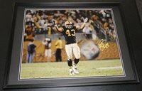 26f9c994dc0 Troy Polamalu Signed Framed 16x20 Photo Poster Steelers USC