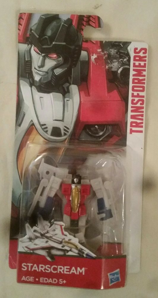 Transformers Reveal the Shield STARSCREAM Legends Rts Figure
