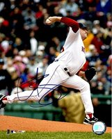 Curt Schilling Autographed Boston Red Sox 8x10 Photo - Authentic Signed Autograph