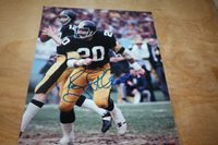 298ab64f6 PITTSBURGH STEELERS ROCKY BLEIER SIGNED 8X10 PHOTO 4X SB CHAMPS POSE 3
