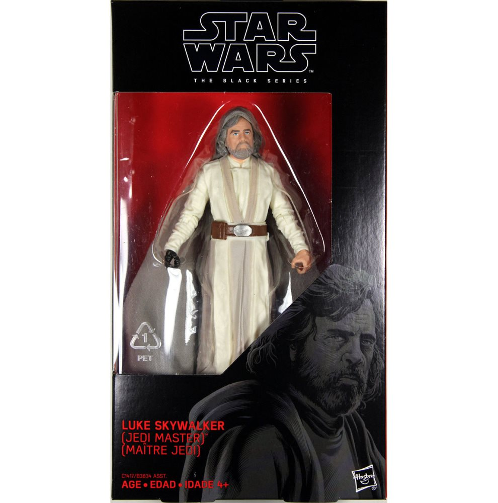 Star Wars The Black Series Episode 8 Luke Skywalker 6-inch Jedi Master
