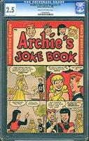 ARCHIE'S JOKE BOOK MAGAZINE (1953-82) #1