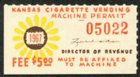 SRS KS VC30 1967 $5 orange mint, VF