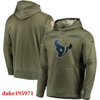 c54627cbd Nike Houston Texans 2018 Mens NFL Salute to Service Therma STS Hoodie 3XL