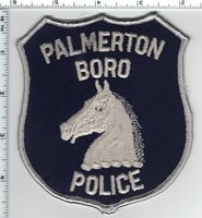 Palmerton Boro Police (Pennsylvania) 3rd Issue Shoulder Patch new - early 1980's
