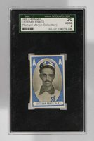 1909 Cabanas Esteban Prats 1st Base SGC Rare Cuban Baseball Card Graded