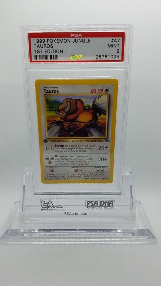 Pokemon Jungle Uncommon Card #47//64 Tauros