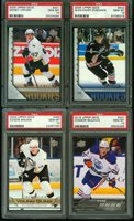 2000's HOCKEY STAR ROOKIE CARD RUN of 114 different PSA 10 CROSBY McDAVID MALKIN