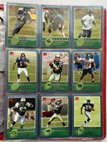 2003 Topps NFL (63) Assorted Rookie Card Lot