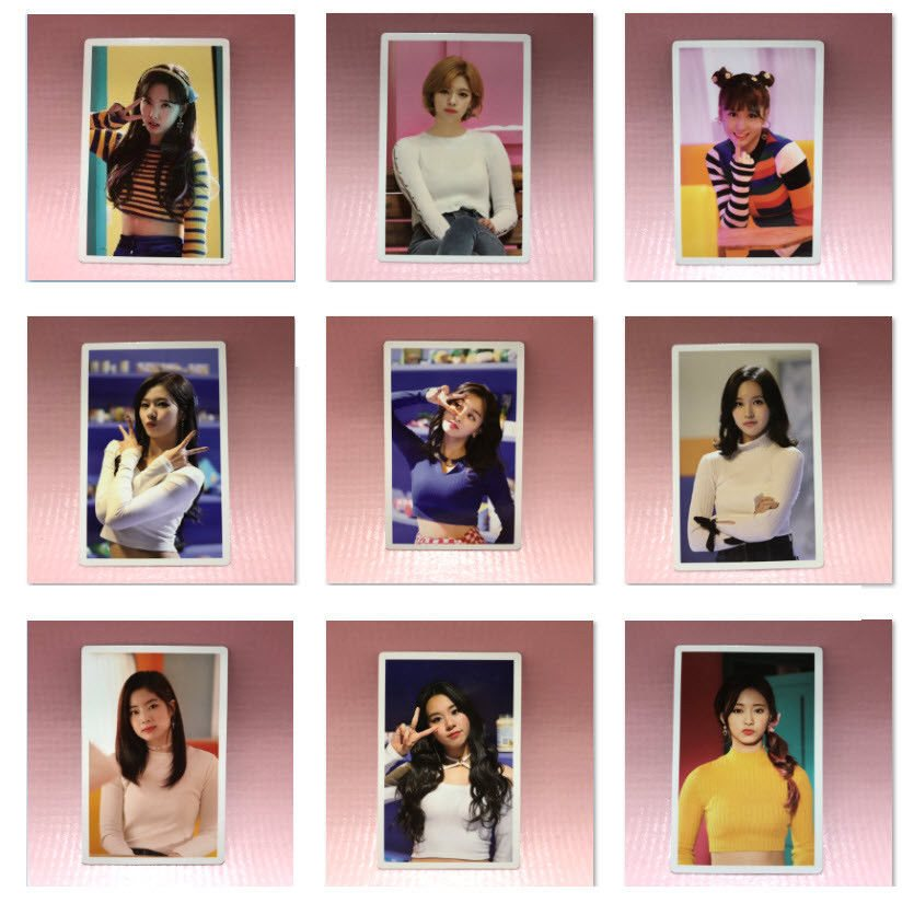 TWICE Merry & Happy Monograph Official PHOTOCARD ONLY Limited Select Photo  Card