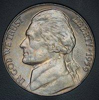 2012-P Jefferson Nickel Trail Die Error Discovery Coin