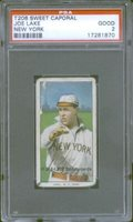 1910 T206 Joe Lake NY PSA 2 (1870) Sweet Caporal 150 649