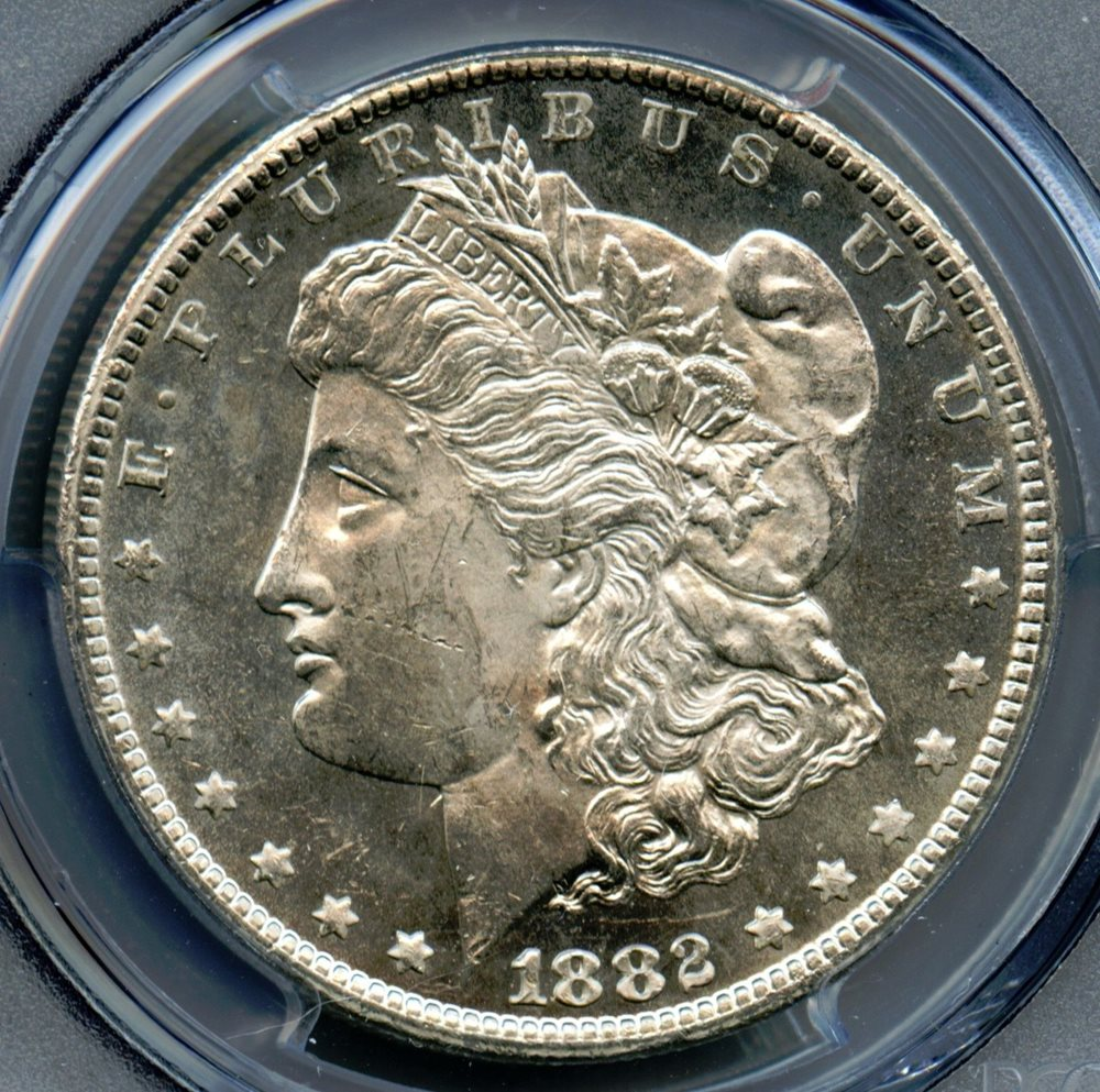 1884-O Morgan Silver Dollar Coin PCGS MS-63 PL Proof-Like GF