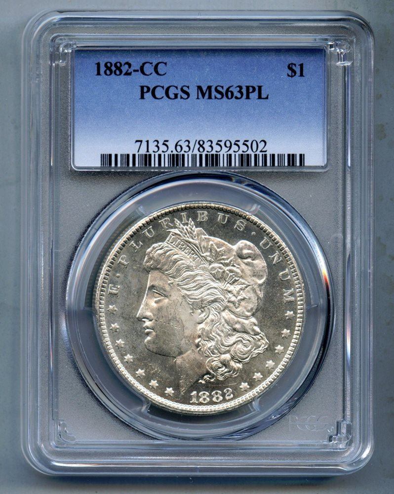 1882 Morgan Dollar MS63 PCGS