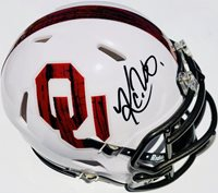 KYLER MURRAY  1 OKLAHOMA SOONERS SIGNED FOOTBALL MINI H 54a5d7fa0