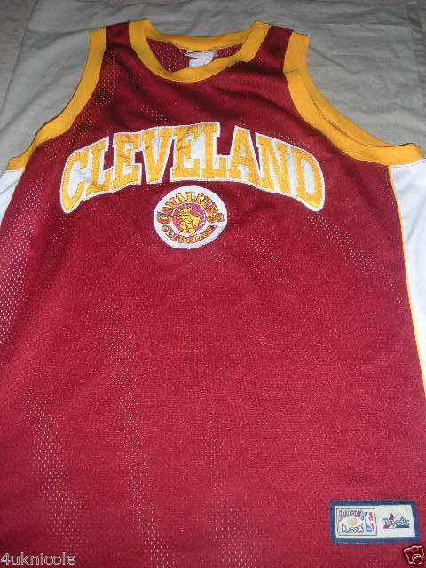 innovative design 4b405 09357 Cleveland Cavaliers NBA Hardwood Classic Jersey Throwback NBA Jersey XXL  Adult