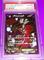 Pokemon Yveltal Full Art 1st ed Holo Psa 10