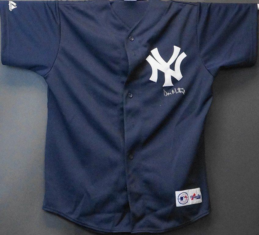 brand new 5e7eb e61d4 Don Mattingly Autographed Yankees Batting Practice Jersey