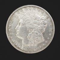 1888-S MORGAN DOLLAR $1 AU50