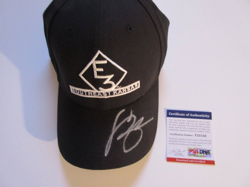 Luke Bryan Signed New Era E3 Ranch Southeast Kansas Hat