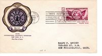First day cover, Sc #778c, TIPEX, Planty 25, Rice cachet, 1936