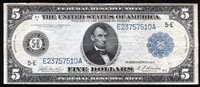 FR. 862 1914 $5 FIVE DOLLARS FRN FEDERAL RESERVE NOTE RICHMOND, VA VERY FINE+