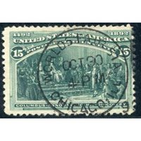 US 238 Early Commemoratives Used F
