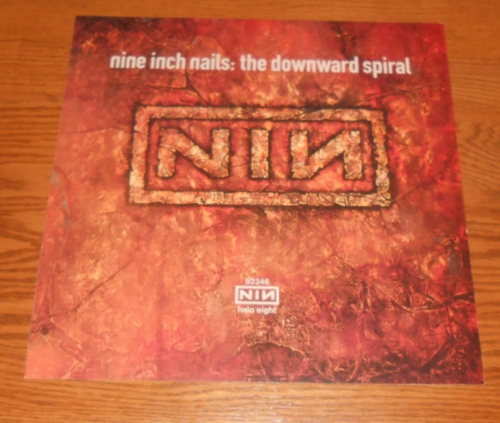 Nine Inch Nails The Downward Spiral Poster 2-Sided Flat