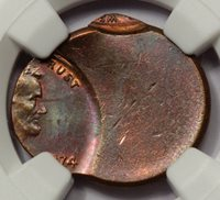 1993-D LINCOLN CENT DOUBLE DIE MINT MARK