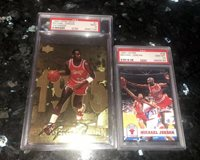 1998 Upper Deck LIMITED EDITION MICHAEL JORDAN GATORADE GOLD #1 PSA 9 BGS Pop 8