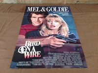 1990 Bird On A Wire Original Movie House Full Sheet Poster