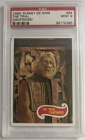 1969 Topps Planet of the Apes PSA 9 MINT POP 17 Only Two Higher! Card #34