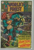 WORLDS FINEST COMICS 181 Green Arrow origin, reprint by Jack Kirby; (Adventure #256; DECEMBER, 1968.