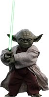 Yoda Star Wars Episode II Attack Of The Clones Movie Masterpiece Series Sixth Scale Figure