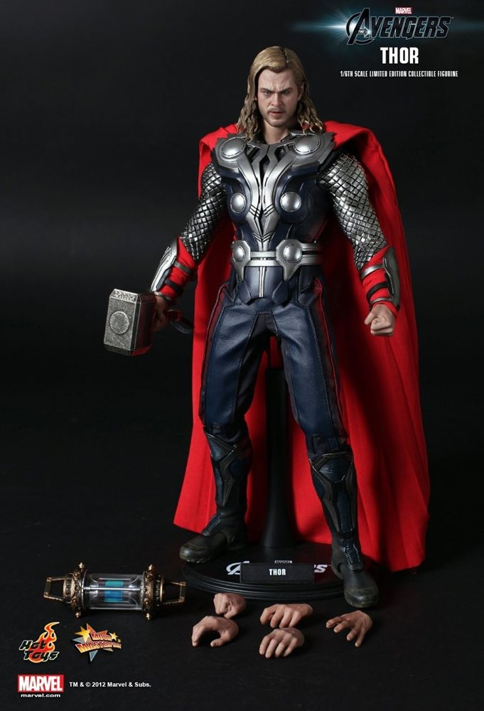 Hot Toys MMS 146 Thor Chris Hemsworth Marvel 12 inch Action Figure NEW