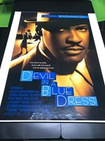 DEVIL IN A BLUE DRESS MOVIE POSTER 2 Sided ORIGINAL 27x40 DENZEL WASHINGTON