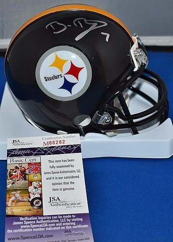 purchase cheap 6af14 60478 Ben Roethlisberger Autographed Mini Helmet Pittsburgh Steelers - JSA  Certified - Authentic Signed Autograph