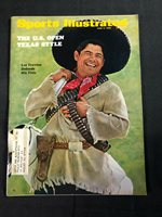 SPORTS ILLUSTRATED JUNE 9, 1969 - THE U.S. OPEN TEXAS STYLE - LEE TREVINO