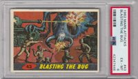 1962 Topps Mars Attacks #43 Blasting The Bug PSA 6 EX-MT Excellent-Mint Lot#8970