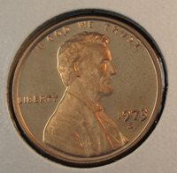 1973 S Proof Lincoln Memorial Cent